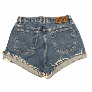 "DKNY Vintage Mom jeans high waisted  shorts 31"""